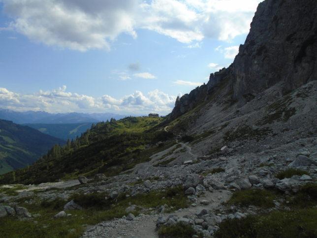 Cesta k Hofpürglhütte