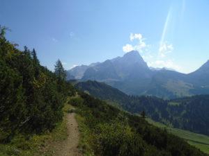 Cesta k chatě Hofpürglhütte
