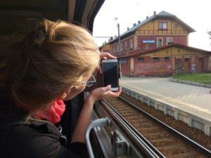 Šumava – ve vlaku