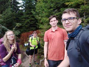 Šumava – před výstupem na Plechý