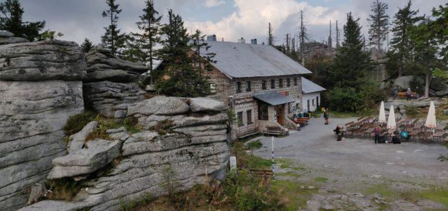 Šumava – chata Berggasthof Dreisessel