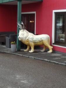 Rakousko (Hallstatt) – lev