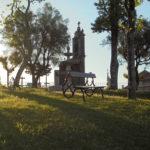 Malebný park a zvonice