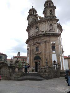 Peregrina Church Pontevedra